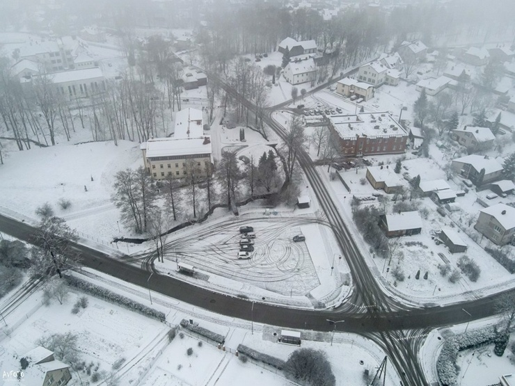Burvīgā Madona pielaiko ziemu. Foto: Agris Veckalniņš 295077