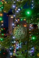 Vidzemenes Ziemeļaustrumu pērle Gulbene  iemirdzas svētku gaismās. Foto: Aleksandrs Lustiks 7