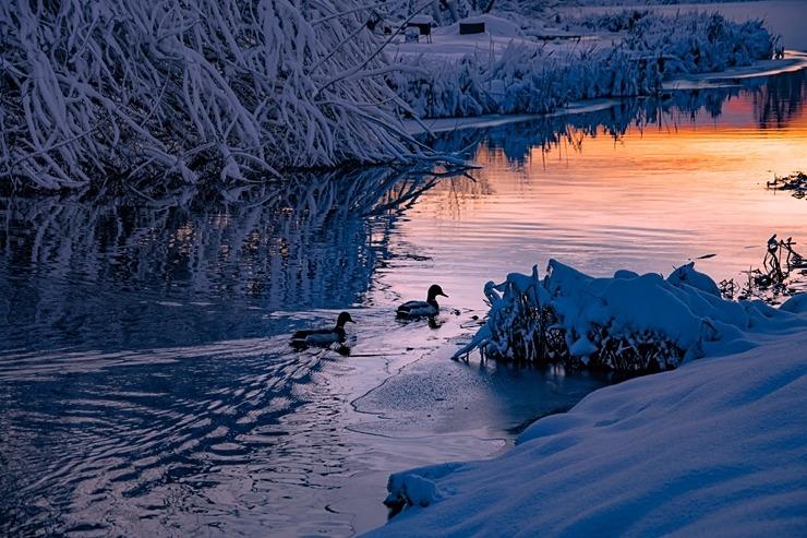 Kad Latgales pilsētu Ludzu pārklāj sniegs 296615