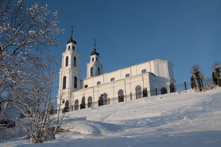Kad Latgales pilsētu Ludzu pārklāj sniegs 296618
