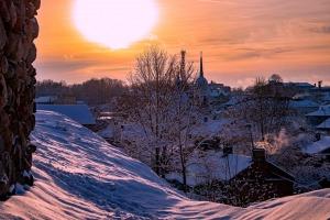 Kad Latgales pilsētu Ludzu pārklāj sniegs 9
