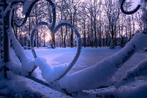 Kad Latgales pilsētu Ludzu pārklāj sniegs 10