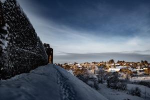 Kad Latgales pilsētu Ludzu pārklāj sniegs 6