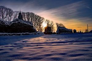 Kad Latgales pilsētu Ludzu pārklāj sniegs 7
