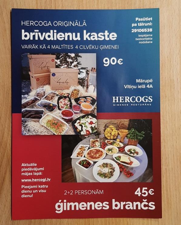 Travelnews.lv apceļo Latviju un cenšas noēst restorāna «Hercogs Mārupe» 90 eiro vērto «Brīvdienu kasti» 297234