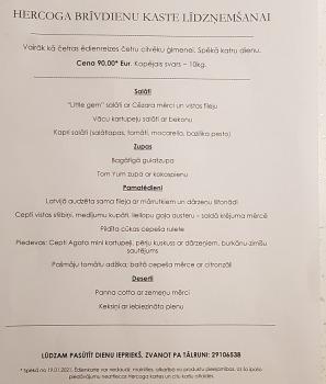 Travelnews.lv apceļo Latviju un cenšas noēst restorāna «Hercogs Mārupe» 90 eiro vērto «Brīvdienu kasti» 4