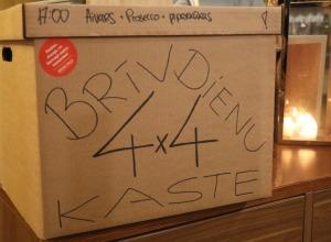Travelnews.lv apceļo Latviju un cenšas noēst restorāna «Hercogs Mārupe» 90 eiro vērto «Brīvdienu kasti» 52