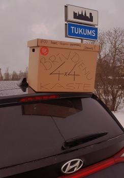 Travelnews.lv apceļo Latviju un cenšas noēst restorāna «Hercogs Mārupe» 90 eiro vērto «Brīvdienu kasti» 53