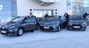 Auto noma «Sixt Latvija» saņem 15 jaunas «Amserv Motors» automašīnas 2
