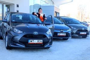 Auto noma «Sixt Latvija» saņem 15 jaunas «Amserv Motors» automašīnas 5