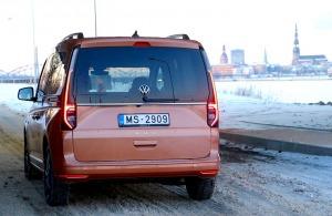 Travelnews.lv apceļo Latviju ar jauno «Volkswagen Caddy 5» 8