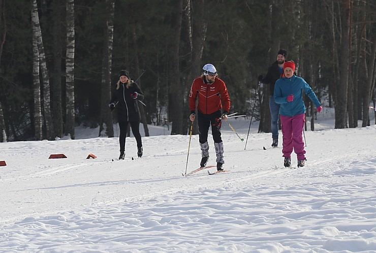 Ogres Zilo kalnu distanču slēpošanas trases ir pieprasīts ziemas aktivitāšu centrs 297890