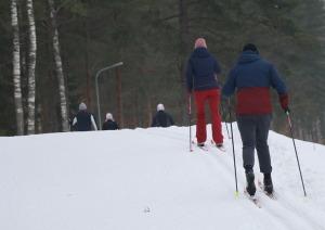 Ogres Zilo kalnu distanču slēpošanas trases ir pieprasīts ziemas aktivitāšu centrs 2