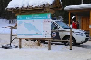 Ogres Zilo kalnu distanču slēpošanas trases ir pieprasīts ziemas aktivitāšu centrs 10