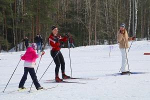 Ogres Zilo kalnu distanču slēpošanas trases ir pieprasīts ziemas aktivitāšu centrs 13