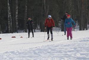 Ogres Zilo kalnu distanču slēpošanas trases ir pieprasīts ziemas aktivitāšu centrs 15