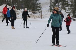 Ogres Zilo kalnu distanču slēpošanas trases ir pieprasīts ziemas aktivitāšu centrs 3