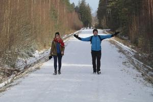 Travelnews.lv dodas 37 km pārgājienā Dundagas apkārtnē 2.daļa 26