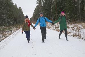 Travelnews.lv dodas 37 km pārgājienā Dundagas apkārtnē 3.daļa 28