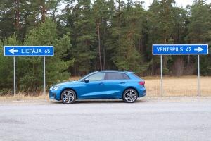 Travelnews.lv ar jauno «Audi A3 Sportback 1.5 35 TFSI» apciemo Jūrkalnes stāvkrastu 20