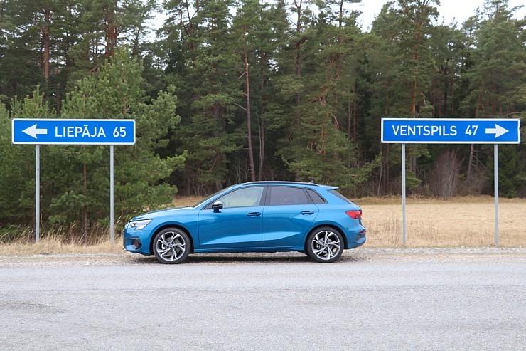 Travelnews.lv ar jauno «Audi A3 Sportback 1.5 35 TFSI» apceļo Latviju 298982