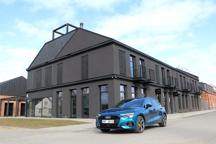 Travelnews.lv ar jauno «Audi A3 Sportback 1.5 35 TFSI» apceļo Latviju 298985