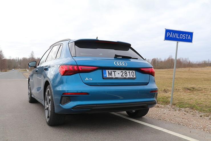 Travelnews.lv ar jauno «Audi A3 Sportback 1.5 35 TFSI» apceļo Latviju 298986