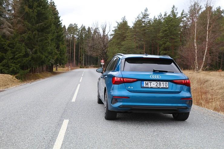Travelnews.lv ar jauno «Audi A3 Sportback 1.5 35 TFSI» apceļo Latviju 298990