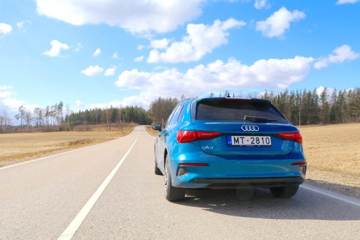 Travelnews.lv ar jauno «Audi A3 Sportback 1.5 35 TFSI» apceļo Latviju 298975