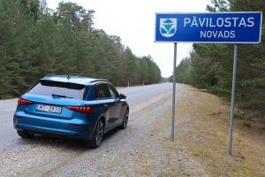 Travelnews.lv ar jauno «Audi A3 Sportback 1.5 35 TFSI» apceļo Latviju 12