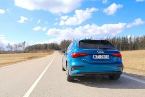 Travelnews.lv ar jauno «Audi A3 Sportback 1.5 35 TFSI» apceļo Latviju 4