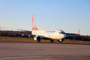 Pēc 375 dienu prombūtnes lidsabiedrības «Turkish Airlines» lidmašīna ir atkal Rīgas lidostā 14