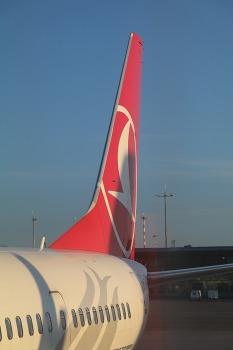 Pēc 375 dienu prombūtnes lidsabiedrības «Turkish Airlines» lidmašīna ir atkal Rīgas lidostā 26
