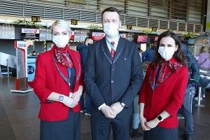 Pēc 375 dienu prombūtnes lidsabiedrības «Turkish Airlines» lidmašīna ir atkal Rīgas lidostā 6