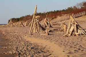Mākslinieku dvēselēm šobrīd ir jādodas uz Carnikavas pludmali 20