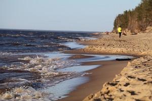 Mākslinieku dvēselēm šobrīd ir jādodas uz Carnikavas pludmali 37