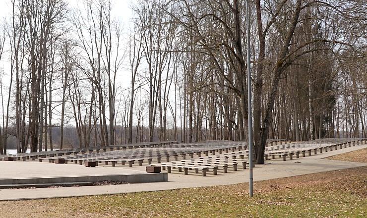 Kokneses parks starp Pērses un Daugavas krastiem ir burvīga atpūtas un pastaigu vieta 300082