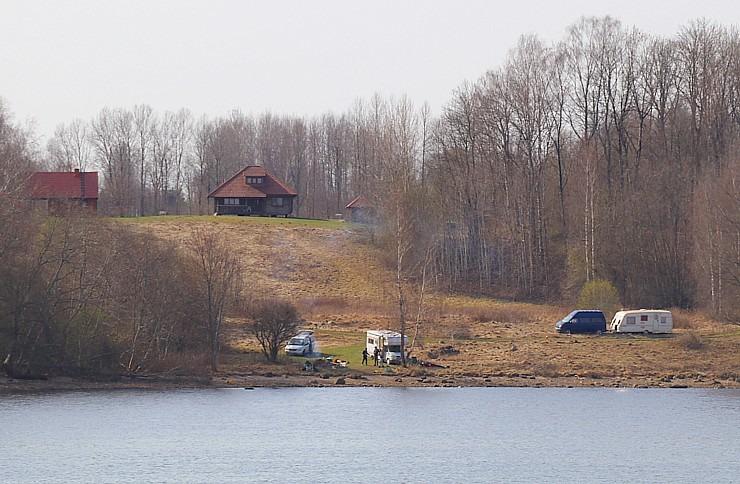 Kokneses parks starp Pērses un Daugavas krastiem ir burvīga atpūtas un pastaigu vieta 300061