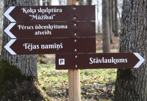 Kokneses parks starp Pērses un Daugavas krastiem ir burvīga atpūtas un pastaigu vieta 22