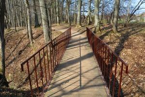 Kokneses parks starp Pērses un Daugavas krastiem ir burvīga atpūtas un pastaigu vieta 23