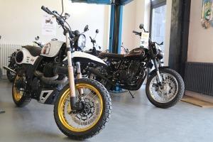 Travelnews.lv apmeklē pilsētas motociklu tirgotavu «Dude Bikes» Rīgā 1