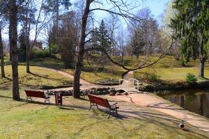 Travelnews.lv apmeklē dendroloģisko Špakovska parku Ogrē 6