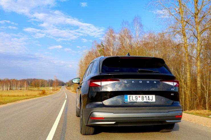 Travelnews.lv pirmo reizi apceļo Latgali 600 km maršrutā ar elektrisko «Škoda Enyaq iV 80» 300228