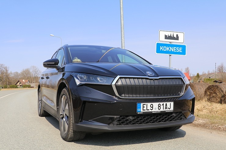 Travelnews.lv pirmo reizi apceļo Latgali 600 km maršrutā ar elektrisko «Škoda Enyaq iV 80» 300229