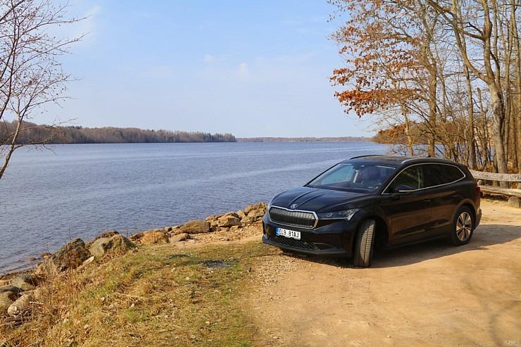 Travelnews.lv pirmo reizi apceļo Latgali 600 km maršrutā ar elektrisko «Škoda Enyaq iV 80» 300231