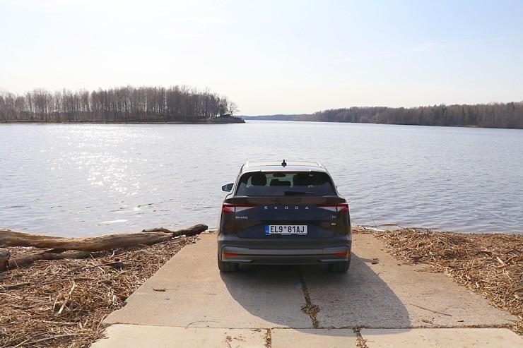 Travelnews.lv pirmo reizi apceļo Latgali 600 km maršrutā ar elektrisko «Škoda Enyaq iV 80» 300233