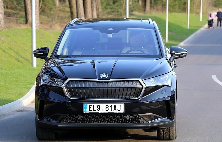 Travelnews.lv pirmo reizi apceļo Latgali 600 km maršrutā ar elektrisko «Škoda Enyaq iV 80» 300220