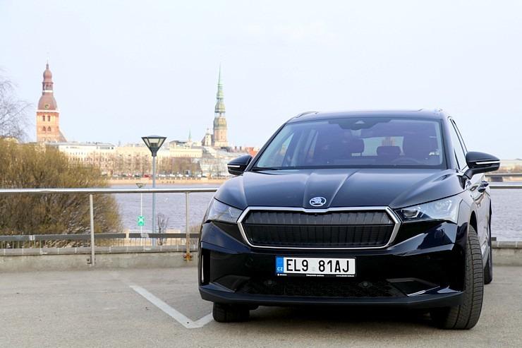 Travelnews.lv pirmo reizi apceļo Latgali 600 km maršrutā ar elektrisko «Škoda Enyaq iV 80» 300253
