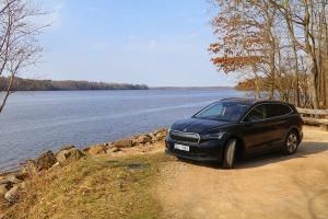 Travelnews.lv pirmo reizi apceļo Latgali 600 km maršrutā ar elektrisko «Škoda Enyaq iV 80» 13