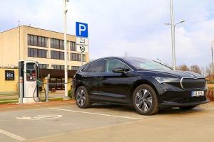 Travelnews.lv pirmo reizi apceļo Latgali 600 km maršrutā ar elektrisko «Škoda Enyaq iV 80» 21
